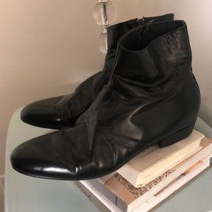 BOGO ☺️ Men's real Italian leather black boot